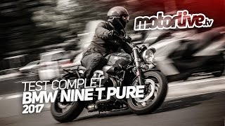 BMW NineT PURE 2017 | TEST COMPLET