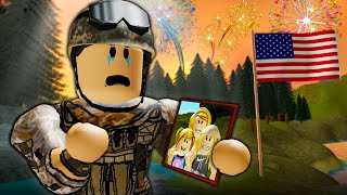 Alone on the 4th of July: A Sad Roblox Movie