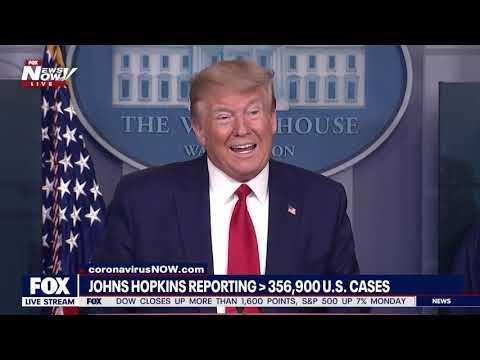 FULL BRIEFING: President Trump & WH Coronavirus Task Force Team 4/6/20