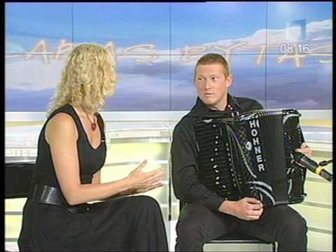Grayson Masefield  in Lithuania TV 2010 07 29