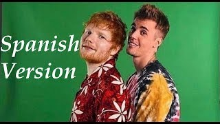 Ed Sheeran & Justin Bieber - I Don't Care Spanish Version (Cover en Español)