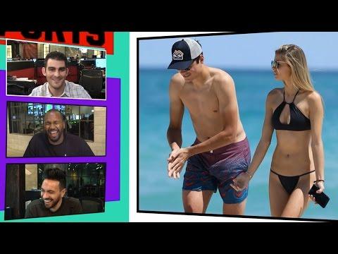 Tennis Star Milos Raonic Warms Up for Tourney With Smokin' Hot Model GF | TMZ SPORTS