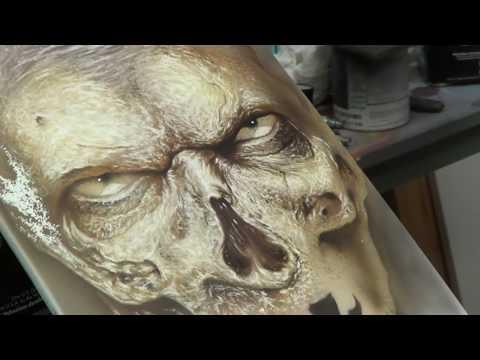 jeremy carey studio's wa;king dead part 8