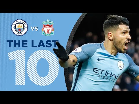 LAST 10 GOALS v LIVERPOOL | Aguero, Silva, Jovetic + more!