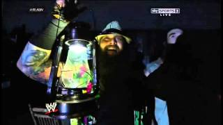 Wyatt Family Entrance - WWE RAW - 4/7/14