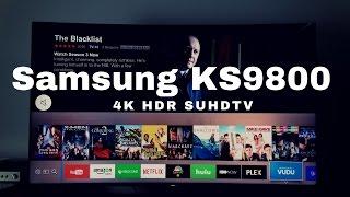Samsung KS9800 4K HDR SUHDTV Review!!!