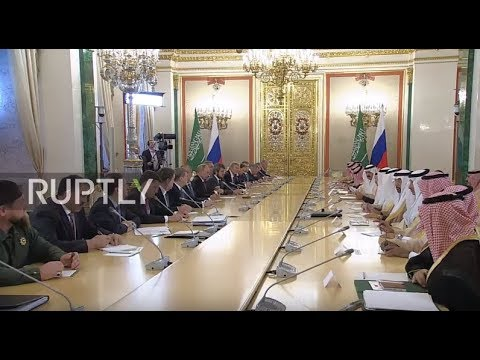 Russia: We strive 'to achieve stability in global oil markets' - King of Saudi Arabia