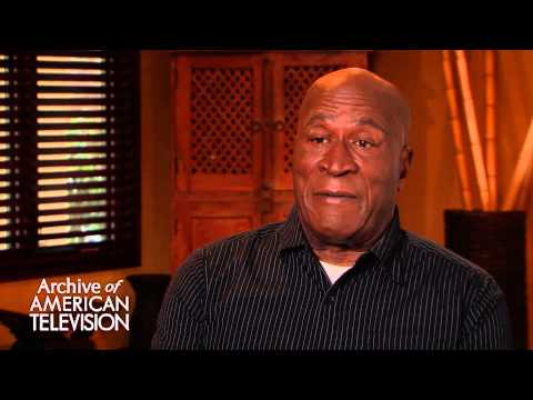 John Amos discusses getting cast on Roots - EMMYTVLEGENDS.ORG