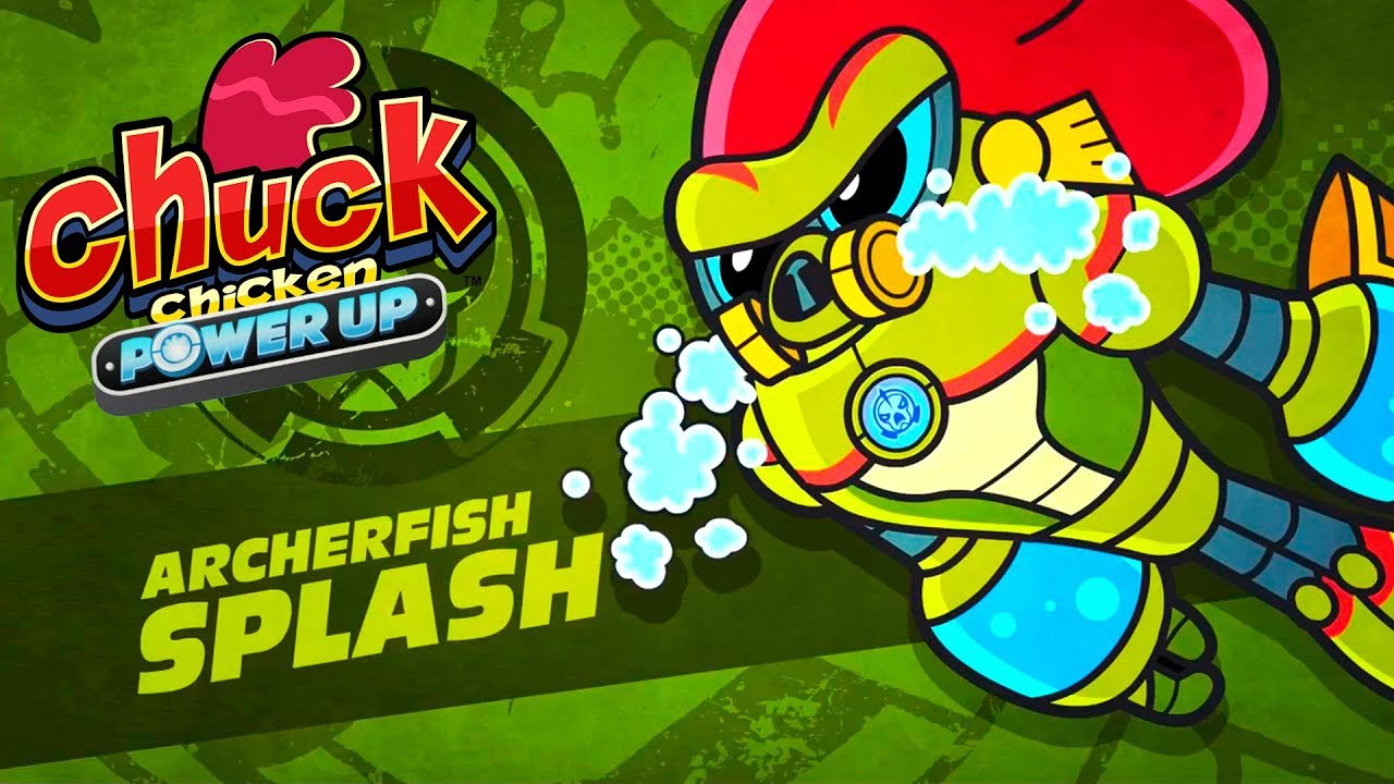 Download Chuck Chicken Power Up - Episode 6 - Wrath of Kraken - cartoon show
