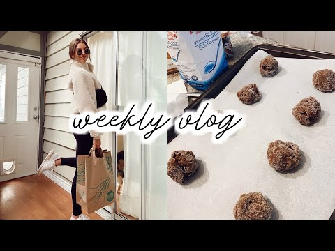 Molasses Cookies, Current Hair Care, Grocery Haul | Weekly Vlog