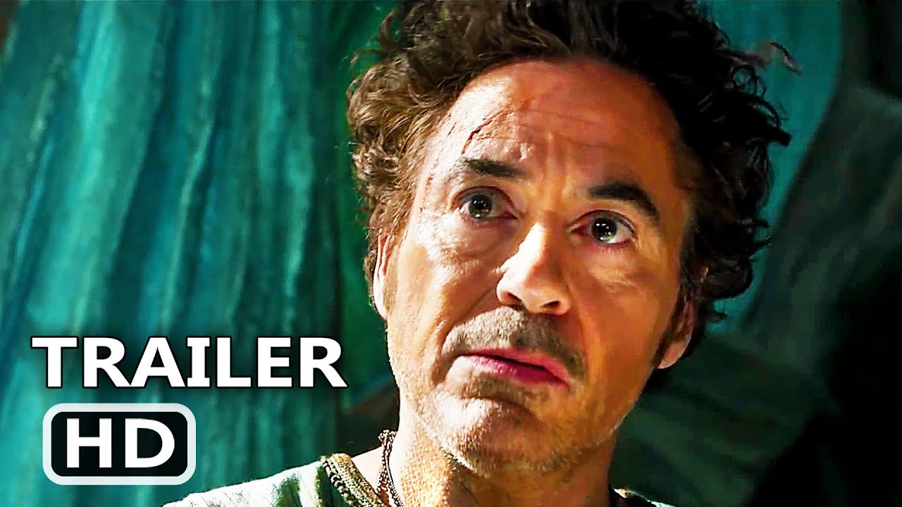 DOLITTLE Trailer # 2 (NEW, 2020) Robert Downey Jr, Tom Holland Movie HD