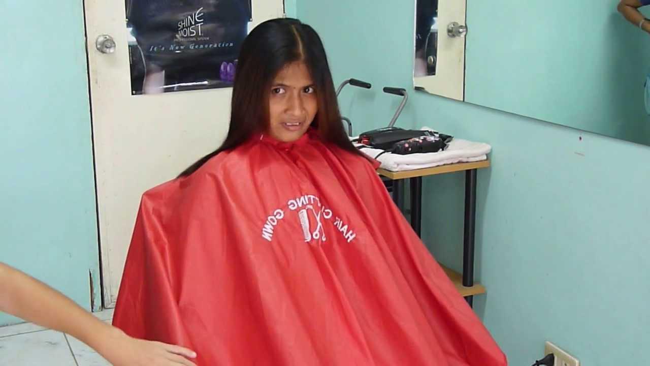 Caping Girl Before Hair Cut - Youtube-3383