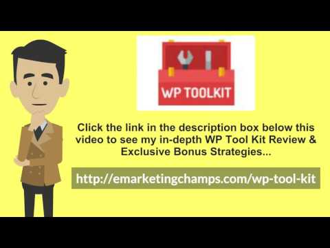 [WP Tool Kit Review] Honest Review & Bonus Strategies