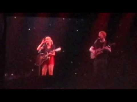 Taylor Swift ft. Ed Sheeran - Everything Has Changed - Portland Oregon - August 30 2013