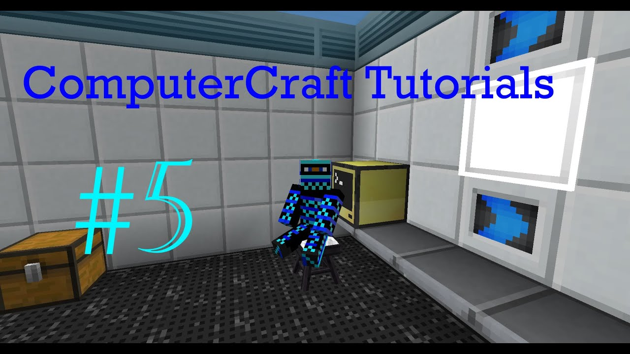 ComputerCraft Tutorials #5: Remote Control Turtle & Basic