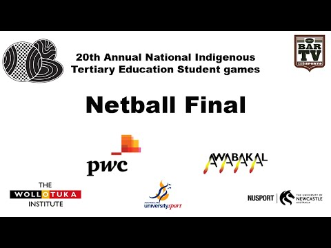 20th Annual National Indigenous Tertiary Education Student games - Netball Final