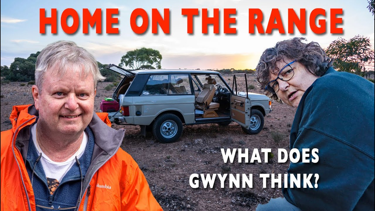 HOME ON THE RANGE - ROVER. I show Gwynn the Range Rover Part-13 Crossing Australia | 4xOverland