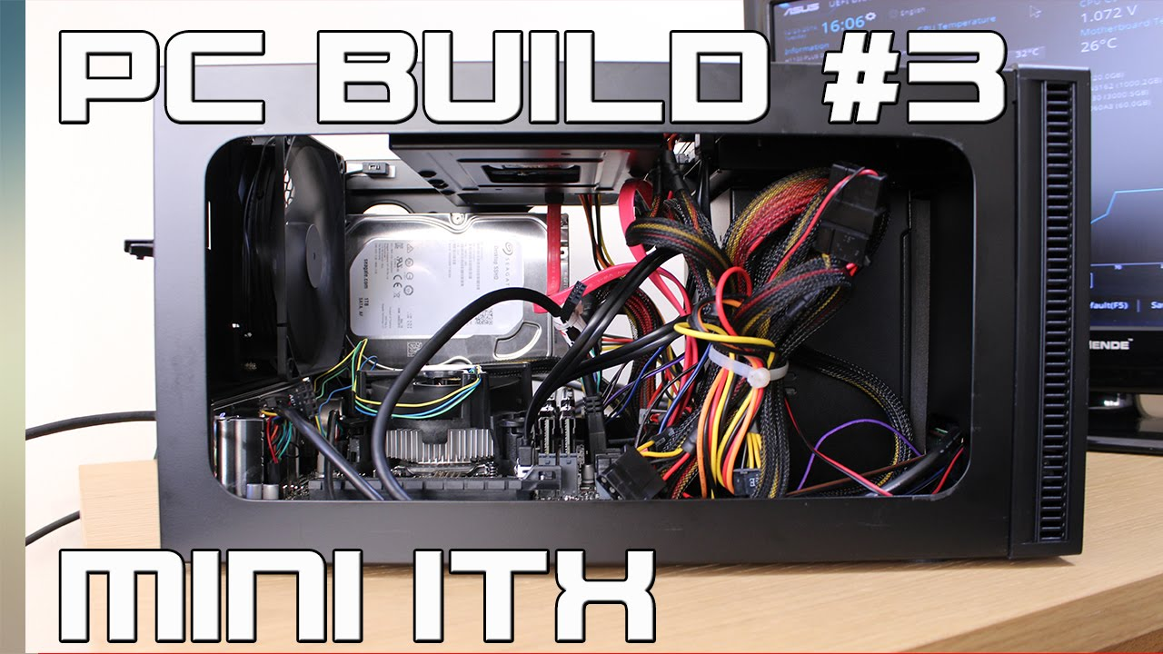 Mini ITX Skylake Budget PC Build - Home Server Upgrade [TIME LAPSE]