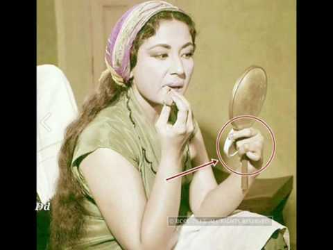 Why Meena Kumari always hid her left hand from Camera