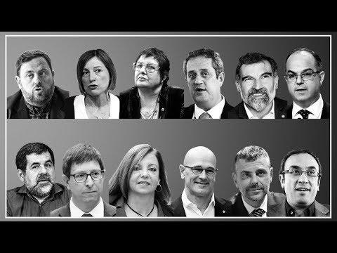 Rebelión o sedición: estos son los 12 acusados en el juicio del referéndum del 1-O de Cataluña