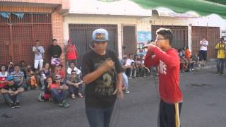 Ken Zingle vs JJ - Batallas FxCrew (2nda Ronda) [Cupo al Versus Liga Mayor De Freestyle] | fxgorra