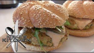 'bombay' Chicken Burgers - Nicko's Kitchen
