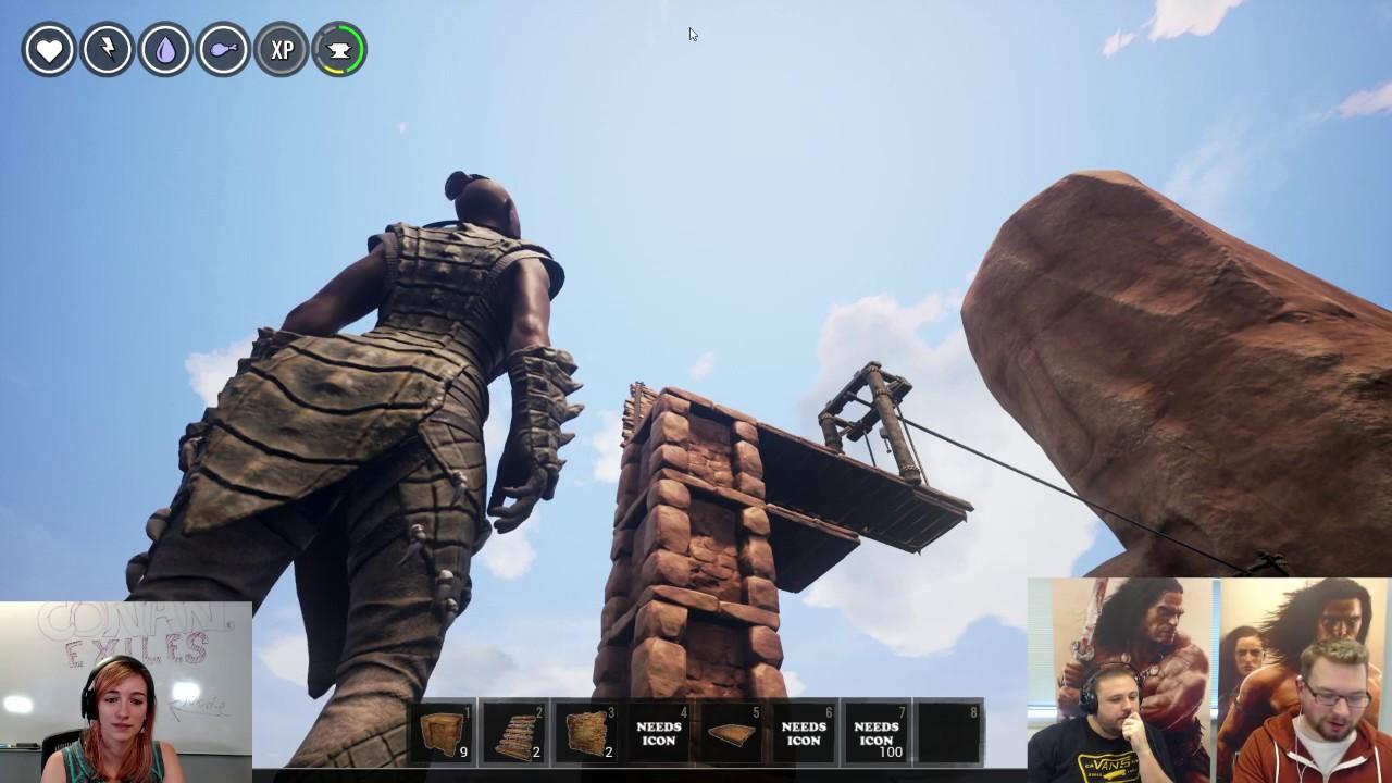 Conan Exiles - Update 27: Fire Bombs, Drawbridges & God Defence