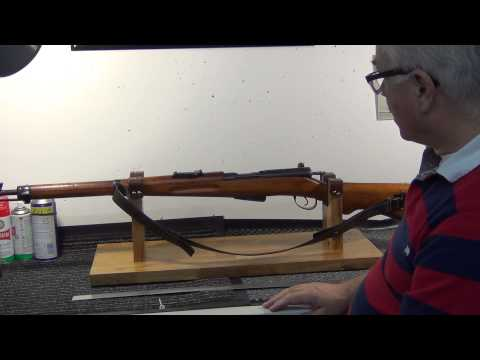 Quick look: Homemade rifle cleaning stand - YouTube