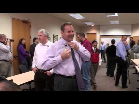 University of Utah Health Care IT Department's celebration of Movember.
