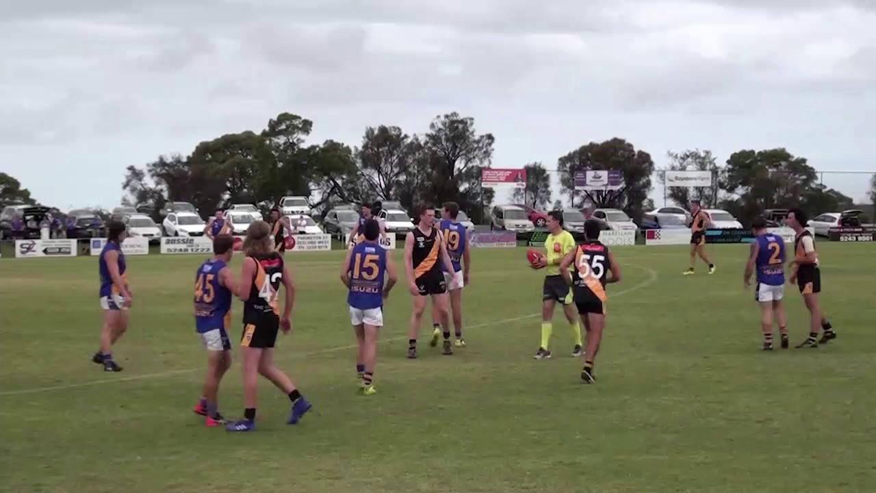 RD 1 - North Shore v Grovedale - Ball ups