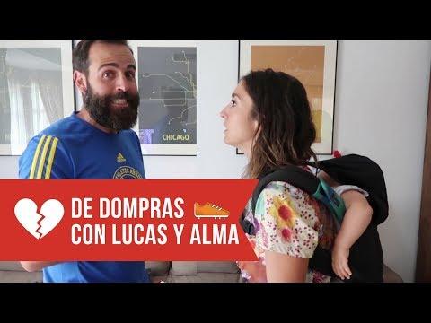 Alma Obregón y Lucas Locura... ¡Se van de compras running!