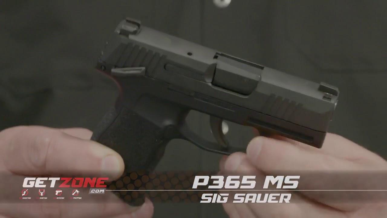 SHOT Show 2019: Sig Sauer P365 MS