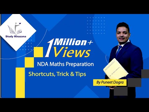 Shortcuts, Trick and Tips - NDA Maths Preparation- Puneet Dogra | Study Khazana