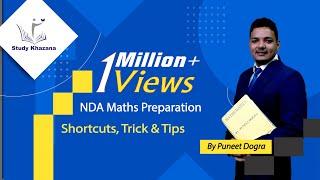 Shortcuts, Trick and Tips - NDA Maths Preparation- Puneet Dogra | Study Khazana