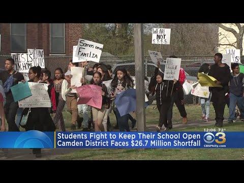Students At Veterans Memorial School In Camden Fight To Keep School Open