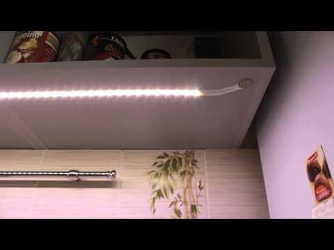 Светодиодная лента подсветка шкафа своими руками