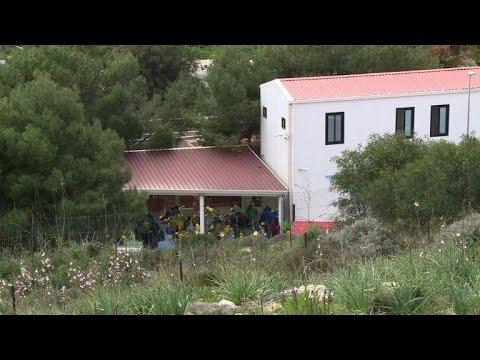 Lampedusa: le centre d'accueil des migrants débordé