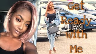 Get Ready w/ Me | Hair ft. RPGHair.com & CLEAN Makeup Look | PETITE-SUE DIVINITII