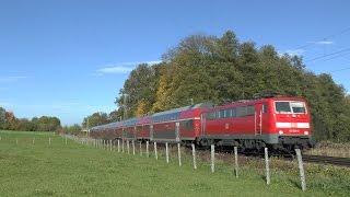 Herbstverkehr 2013 in Vogl und Aßling - Mit DB Regio nach Salzburg und Kufstein