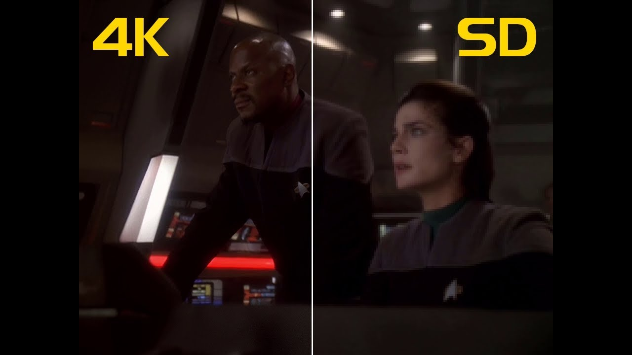 How Did I Upscale Star Trek: DS9 Footage to 4K?