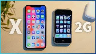 iPhone X vs iPhone 2G! (2017 vs 2007)