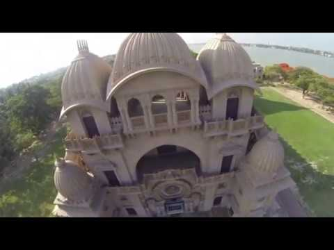 Belur Math on the HOly river Bank. Attraction of kolkata