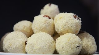 Rava Laddu ( Suji or Semolina) by Telugu Taste Buds