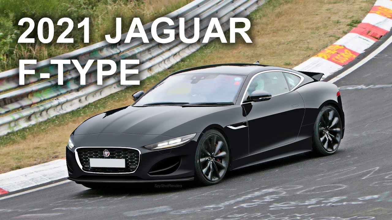 2021 jaguar ftype facelift  spy shot render preview