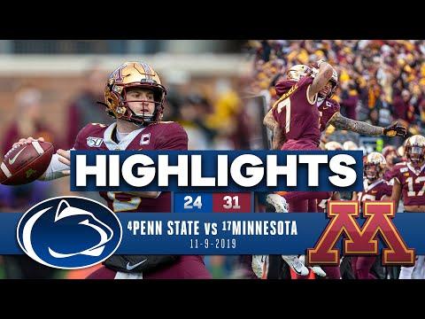 Penn State vs. Minnesota highlights | Golden Gophers stay PERFECT | CBS Sports HQ
