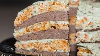 Печёночный тортик (блиница Орион)