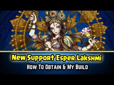 Final Fantasy Brave Exvius - Lakshmi! A New Esper Joins The Team!