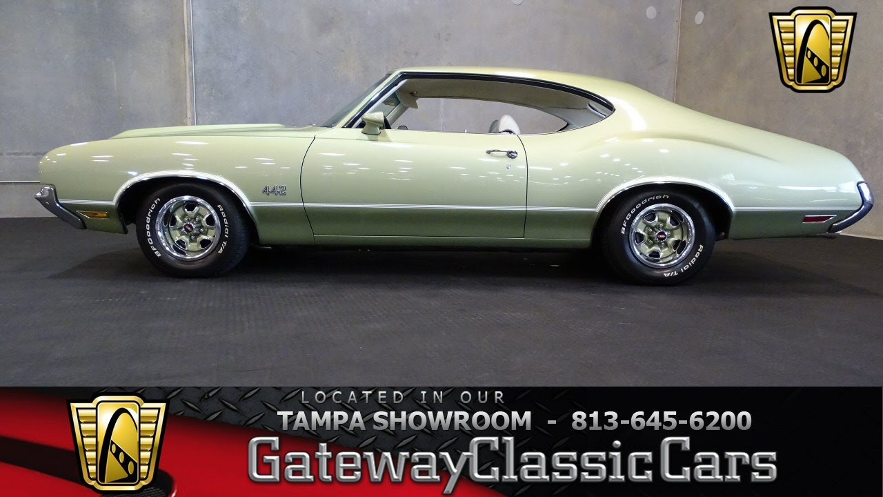 1972 Oldsmobile 4-4-2 Tampa Florida - YouTube