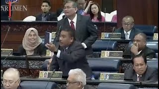 Chaos in Parliament  'Gangster' remark leads to shouting match
