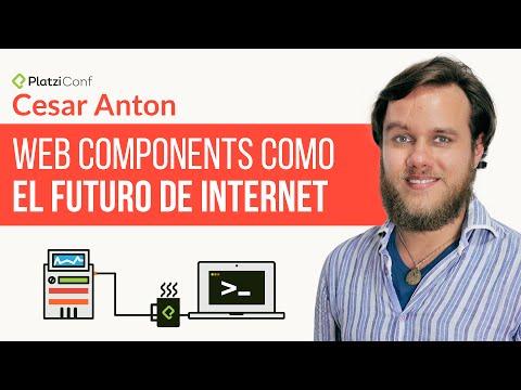 Web components como el futuro de Internet | Conferencia en PlatziConf, Febrero 2015